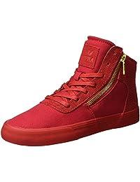 Supra Womens Cuttler Risk Red Skate Shoe