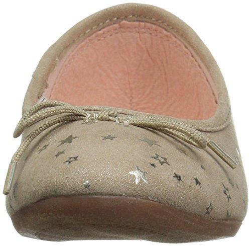 Oshkosh B'Gosh  Girls' Gwen Ballet Flat, Gold, 8 M US Toddler - Image 4