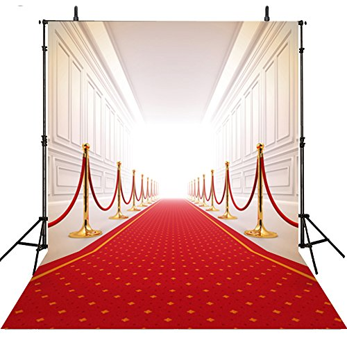 10x10Feet Red Carpet Wedding Photography Backdrops...