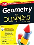 img - for Geometry: 1,001 Practice Problems For Dummies (+ Free Online Practice) by Ma, Allen, Kuang, Amber (2015) Paperback book / textbook / text book