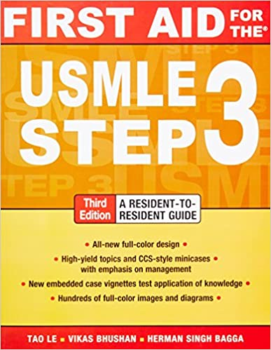 First aid for the usmle step 3 third edition 9780071712972 first aid for the usmle step 3 third edition 9780071712972 medicine health science books amazon ccuart Gallery