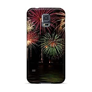 IanJoeyPatricia Samsung Galaxy S5 Shock Absorption Cell-phone Hard Covers Support Personal Customs Vivid Breaking Benjamin Series [IuF14807VVum]