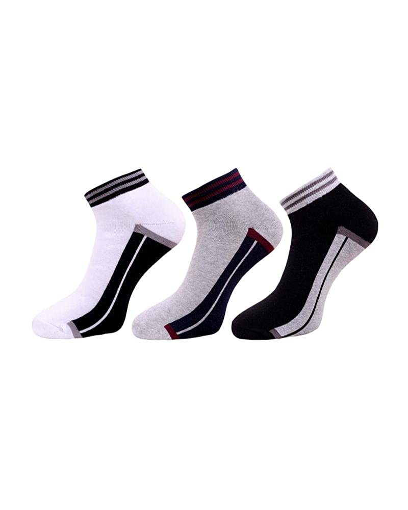 Emperal Unisex Cotton Ankle Socksemperal Socks004multicolourpack