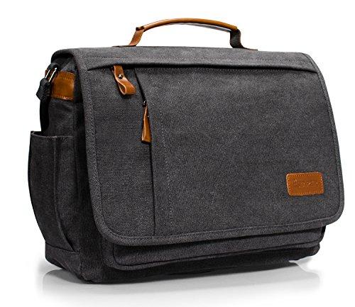 Estarer 13.3-14 inch Mens Laptop Messenger Bag,Work Satchel Shoulder Bag...