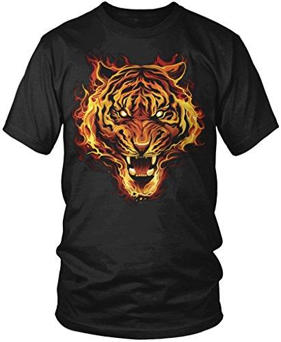 Amdesco Flaming Tiger, Tiger Made of Fire Men