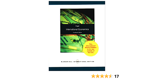 International Economics Pugel Thomas 9780071280792 Amazon Com Books