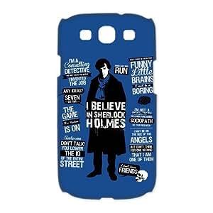Custombox Sherlock Samsung Galaxy S3 I9300 Case Hard Case Plastic Hard Phone Case-Samsung Galaxy S3-DF00447 WANGJING JINDA