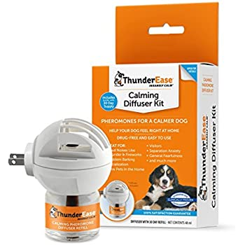 ThunderEase Calming Anti Anxiety Diffuser Kit for Dogs (30 Day Supply)