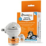 ThunderEase Dog Calming Pheromone Diffuser Kit - Relieve Separation Anxiety, Stress Barking and Chewing, Fear of Fireworks and Thunderstorms (30 Day Supply)