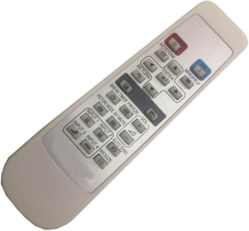 Remote Control for Sharp XV-Z9000U Projector with Laser Pointer