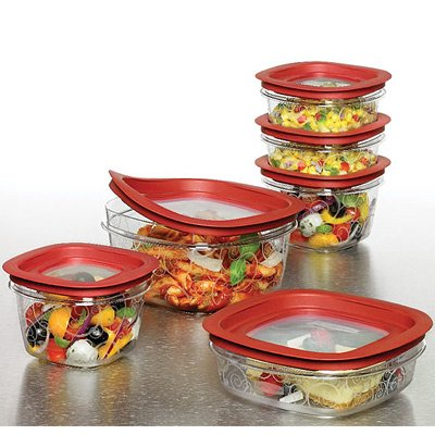 Rubbermaid Easy Find Lid Premier Food Storage Container Set by Rubbermaid