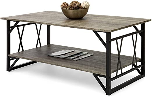 Amazon Com Coffee Table 48 Inch Long With Storage Wood Living