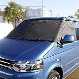 UK Custom Covers SW117BLACK Front Windscreen Wrap Cover BLACK