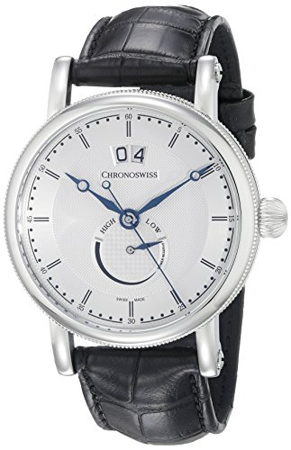 Chronoswiss Men's CH-3523.1/11-1 Sirius Analog Display Automatic Self Wind Black Watch
