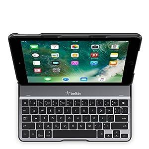 Belkin QODE Ultimate Lite Keyboard Case for iPad 5th Generation (2017) and iPad Air (1st Generation) - F5L904ttBLK from Belkin Inc.