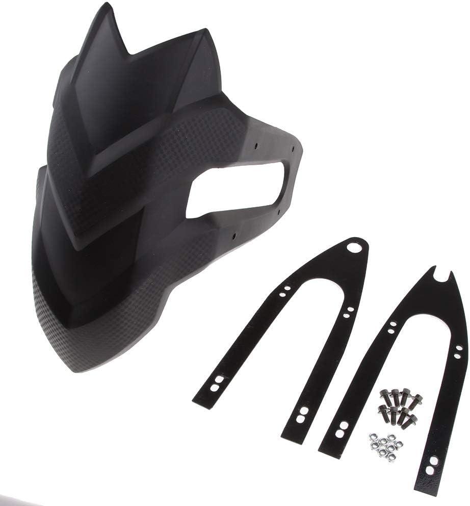 Couverture Anti-poussi/ère Moto for Honda CBF190R CB190R Kawasaki Z250 Accessoires en Plastique Moto Garde-Boue arri/ère Support Garde-Boue Garde Splash