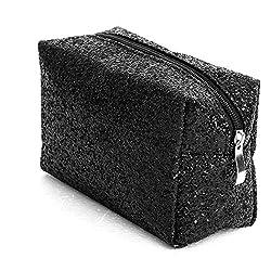 Accessories Makeup Bag In Black Sequins