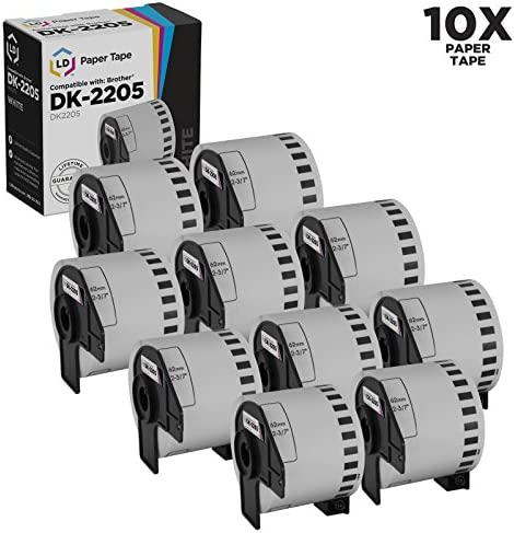 Compatible Brother DK 2205 Rolls White product image