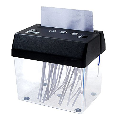 Compact Paper Shredder with Letter Opener