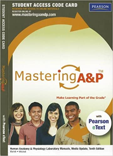 Masteringap with pearson etext standalone access card for masteringap with pearson etext standalone access card for human anatomy physiology laboratory manuals update 10th edition mastering ap access fandeluxe Image collections