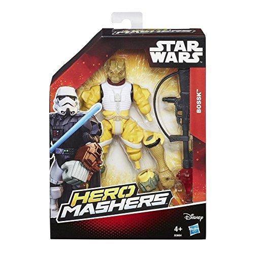 Star Wars Episode V - Hero Mashers Bossk Action Figure Hasbro B3664 by Hasbro