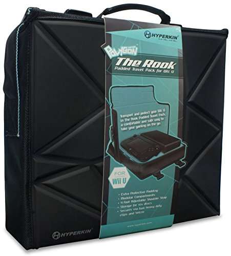 "Hyperkin Polygon ""The Rook"" Travel Bag for Wii U"