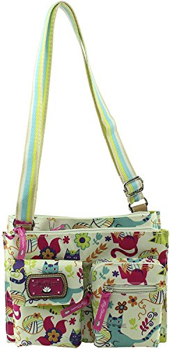 Lily Bloom Regina Crossbody Purse Feline Fun -  ADULT