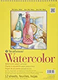 Strathmore STR-360-9 12 Sheet Watercolor Spiral Pad, 9 by 12""