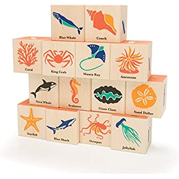 Amazoncom Uncle Goose Periodic Table Blocks Made In Usa Toys