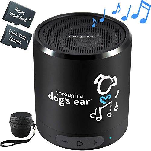 iCalmDog 5.0c Portable Speaker + 5-hrs Clinically-Tested Calming Music: Through a Dog's Ear | Your Proven Canine Anxiety Solution (List Of Best Selling Albums)