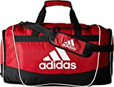 adidas Defender II Duffel Bag (Medium), University Red, 13 x 24 x 12-Inch