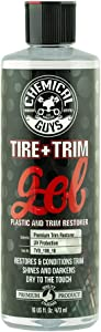 Chemical Guys TVD_108_16 Tire and Trim Gel for Plastic and Rubber - Restore and Renew Faded Tires, Trim, Bumpers and Rubber (16 oz)