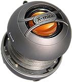 X-Mini UNO XAM14-GM Portable Capsule Speaker, Mono, Gun Metal