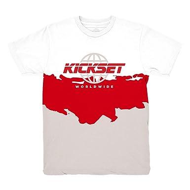 27114c63a61 Platinum Tint 11 Kickset Waves Shirt to Match Jordan 11 Platinum Tint  Sneakers (Small)