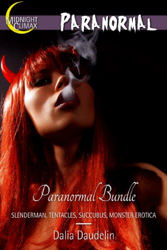 Paranormal Bundle (Slenderman, Tentacles, Succubus, Monster Erotica) (Succubus Halloween Costume)