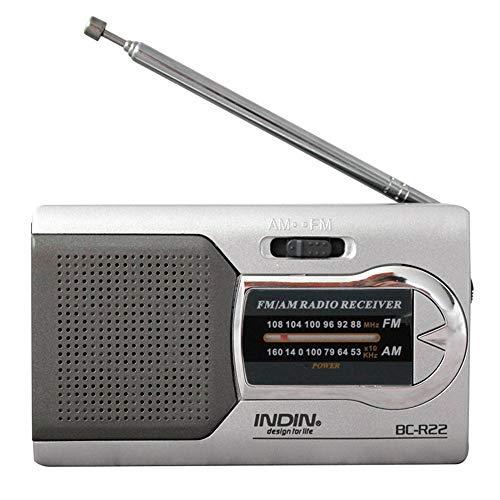Universal Slim AM/FM Mini Radio World Receiver Stereo Speakers High Performance Music Player portable