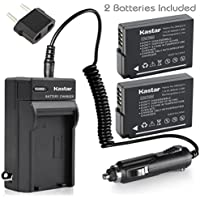 [Fully Decoded] Kastar DMW-BLD10 Battery (2-Pack) and Charger Kit for Panasonic DMW-BLD10, DMW-BLD10E, DMW-BLD10PP, DE-A93B and Panasonic Lumix DMC-G3, Panasonic Lumix DMC-GF2, Panasonic Lumix DMC-GX1