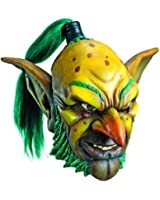 Rubie's Costume Co Men's World Of Warcraft Goblin Deluxe Overhead Latex Mask