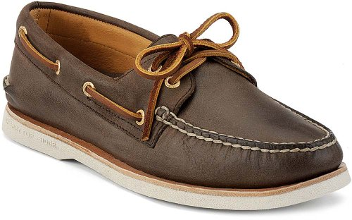 Sperry Men's Gold Cup Authentic Original 2-Eye Boat Shoe, Brown, 10 W US