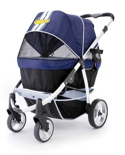 Pet Stroller,IPS-06/Navy-Blue, Dog Carrier, Trolley, Trailer, Innopet, Buggy Retro. Foldable pet Buggy, Pushchair, pram…