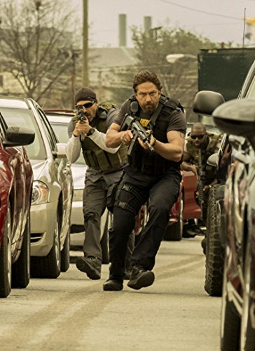 Gabriela 24inch x 33inch Den of Thieves Gerard Butler Pablo Schreiber O'Shea Jackson Jr. Waterproof Poster (Bathroom, Outdoors wherever you like) By
