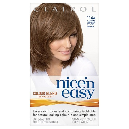 Clairol Nice'n'Easy Hair Colourant 114A Natural Lightest Golden Brown Procter & Gamble 3253895