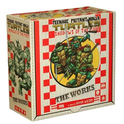 Teenage Mutant Ninja Turtles Shadows of the Past - The Works - Tmnt Games Turtles