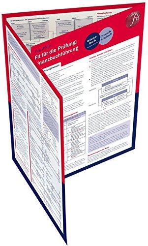 Fit für die Prüfung: Finanzbuchführung: Lerntafel Schautafel – Folded Map, 18. Juni 2014 Jörg Wöltje UTB GmbH 3825241130 Betriebswirtschaft