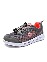 Dream Pairs 160712-2 Boys & Girls New Light Weight Comfort Sole Easy Walking Casual Athletic Slip On Water Swim/Sport shoes (Toddler/Little Kid/Big Kid)