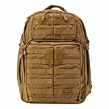 5.11 RUSH24 Military Tactical Backpack, Molle Rucksack Bug Out Bag, Medium, Style 58601, Flat Dark Earth