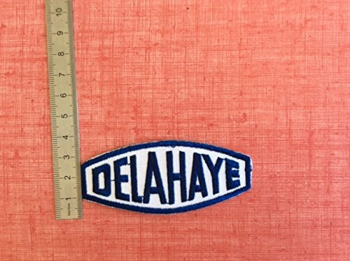 DELAHAYE THERMOCOLLANT ECUSSON PATCHES AUFNAHER TOPPA