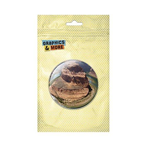 (Horseshoe Bend Arizona Colorado River Pinback Button Pin Badge - 1 Inch)