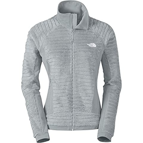 The North Face Radium Hi-Loft Jacket Womens High Rise Grey XL - Hi Loft Fleece Jacket