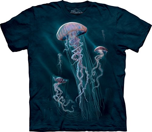 The Mountain Kids Jellyfish T-Shirt, Small, Blue ()